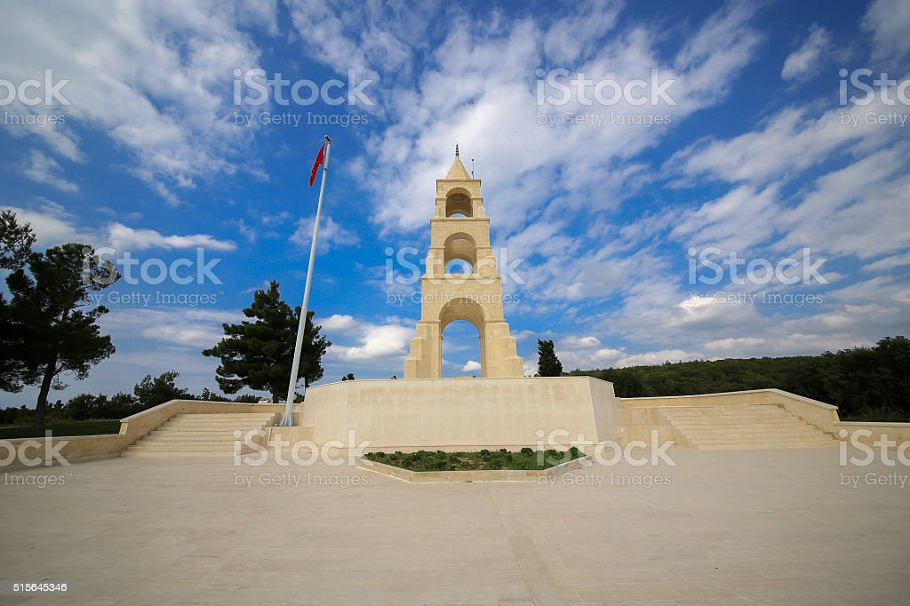 57th Infantry in Gallipoli, Çanakkale stock photo