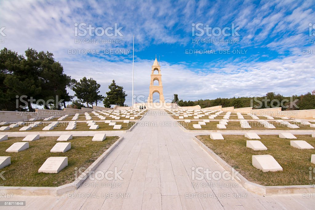 57th Regiment Martyrdom , Gallipoli stock photo