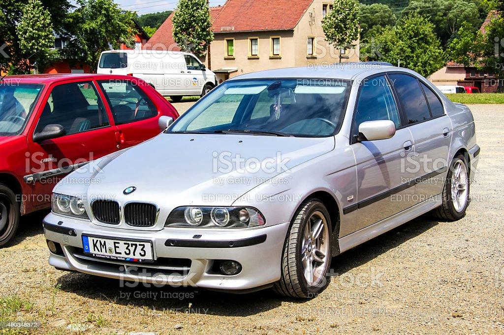 BMW E39 5-series stock photo