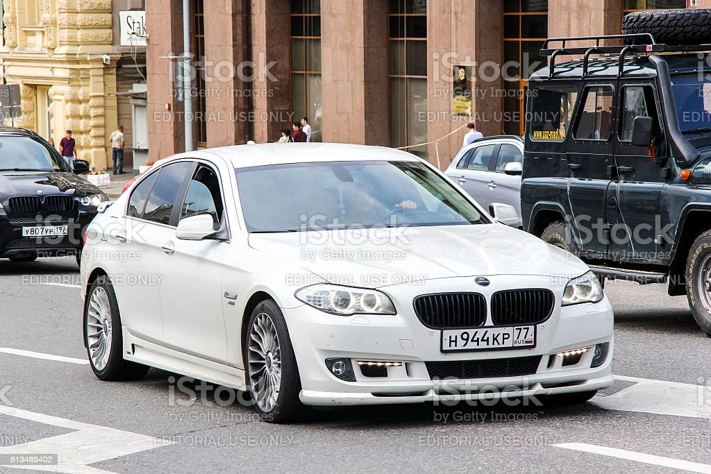 BMW F10 5-series stock photo