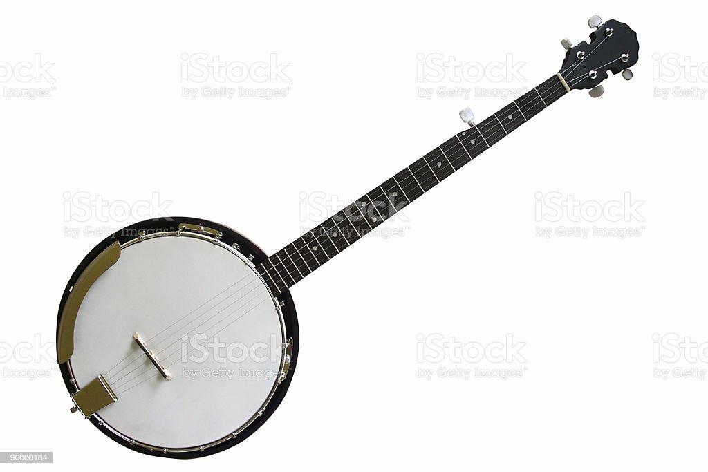 5-string Banjo stock photo