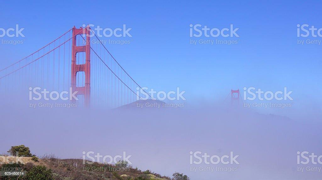 SAN FRANCISCO, USA - OCTOBER 5th, 2014: Golden Gate Bridge stock photo