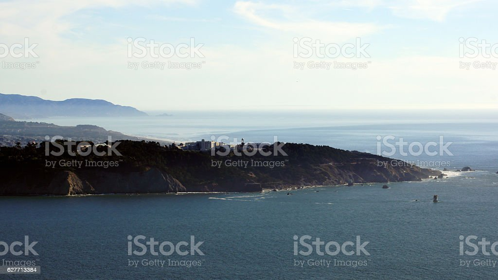 SAN FRANCISCO, USA - OCTOBER 5th, 2014: View of Lands stock photo