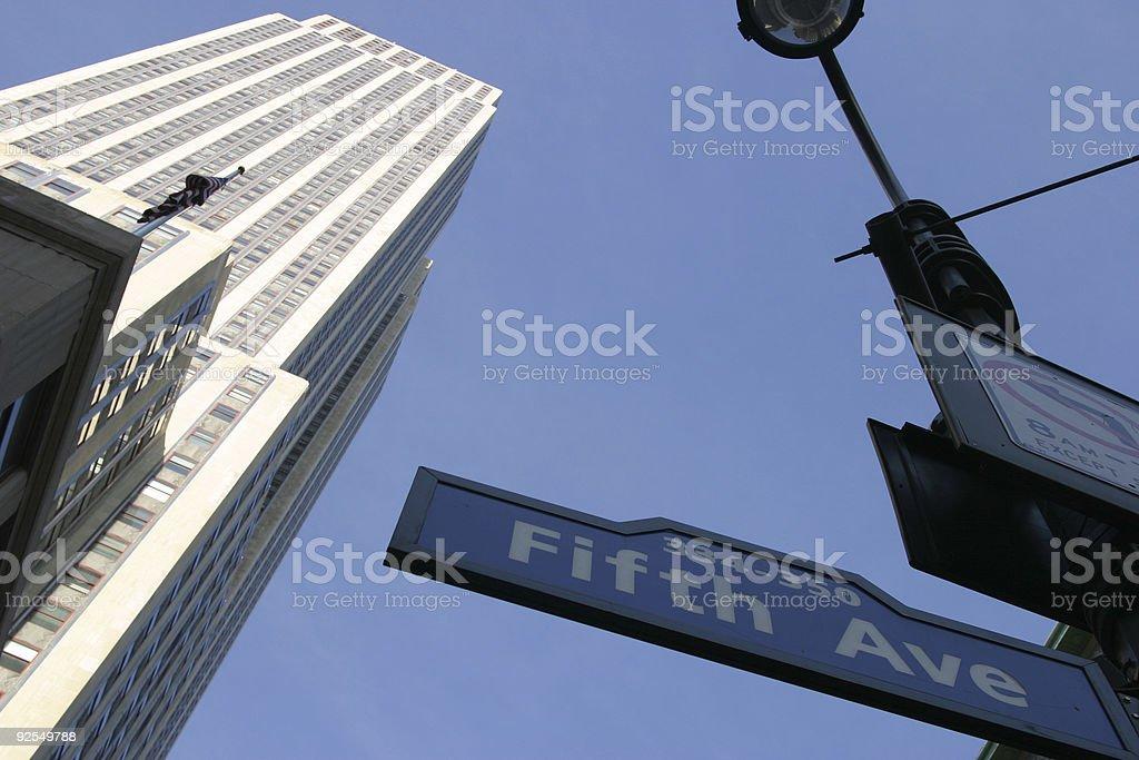 5th Avenue stock photo