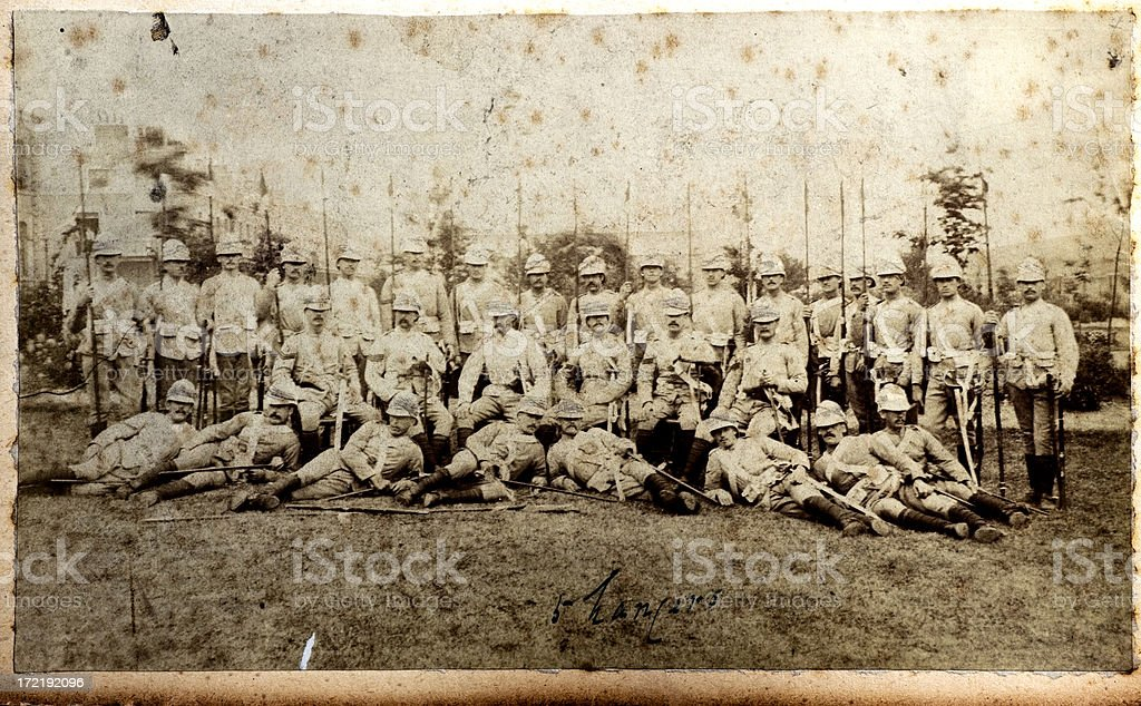 5th Lancers royalty-free stock photo