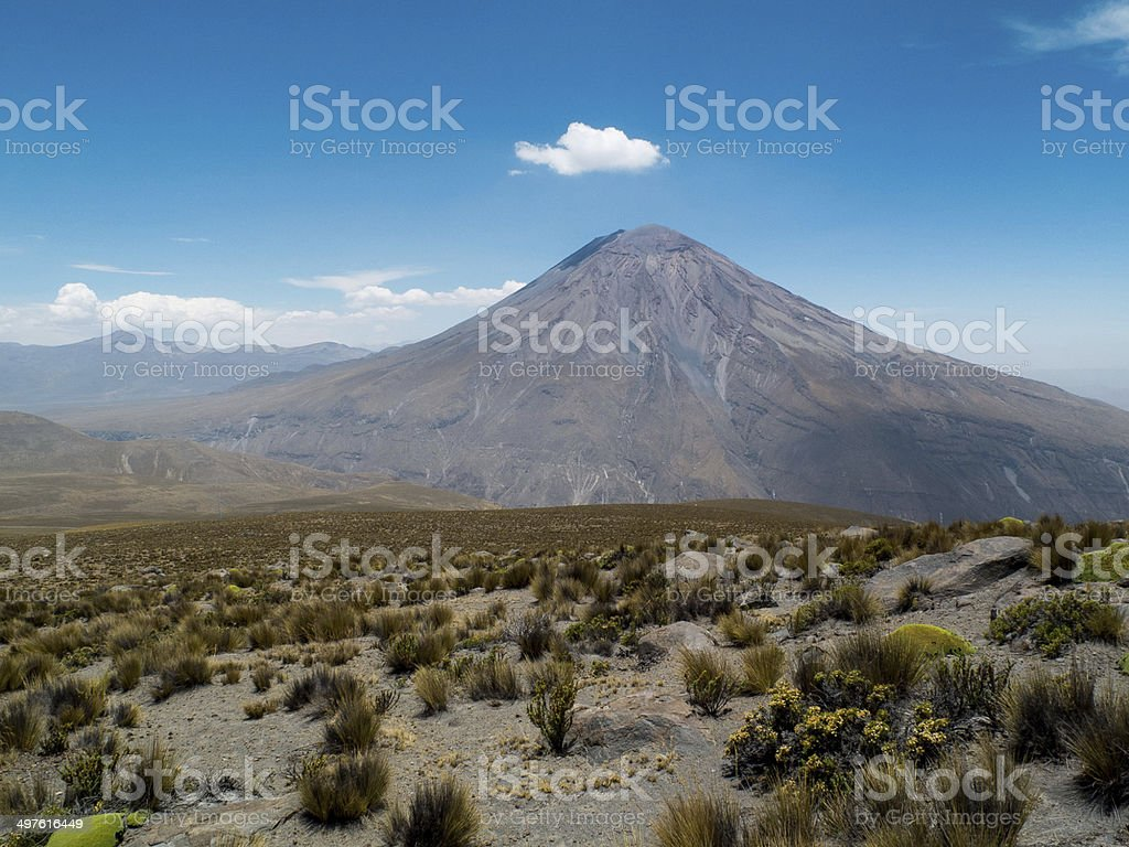 6000m in the Distance royalty-free stock photo