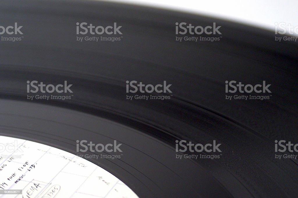 60ies vinyl record royalty-free stock photo