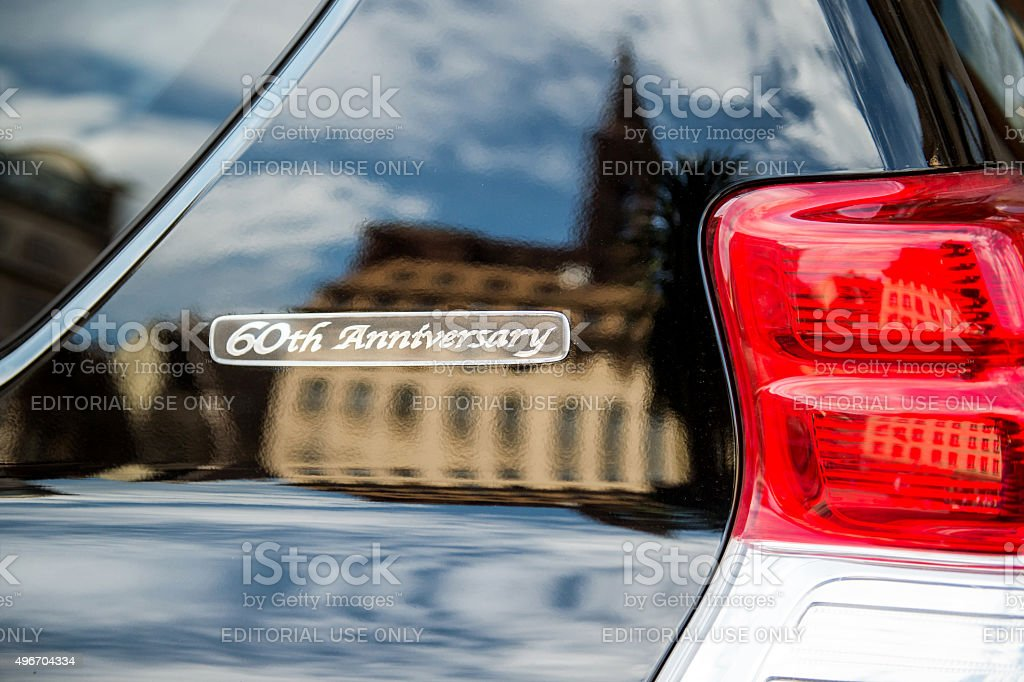 60th Anniversary Limited Edition Toyota Prado stock photo