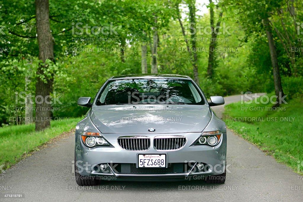 BMW 645i royalty-free stock photo