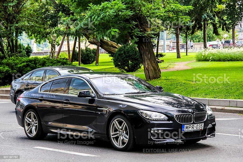 BMW F06 6-series Gran Coupe stock photo