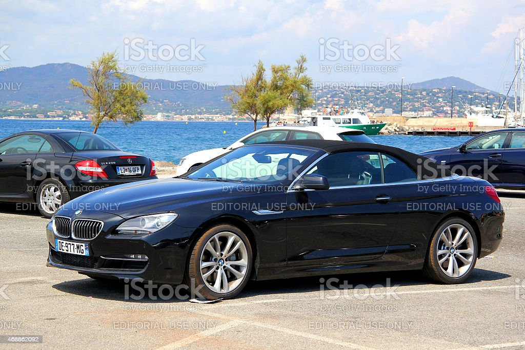 BMW F12 6-series stock photo