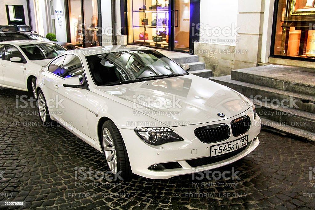 BMW E63 6-series stock photo