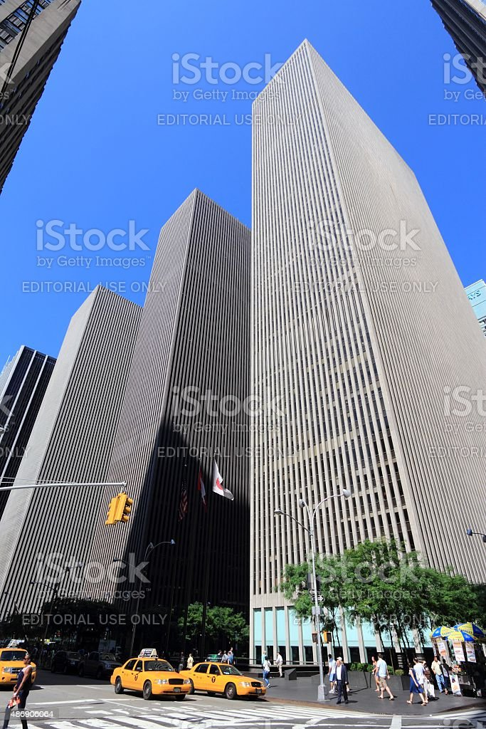 6th Avenue, New York stock photo