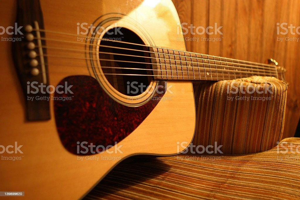 70s Guitar 2 royalty-free stock photo