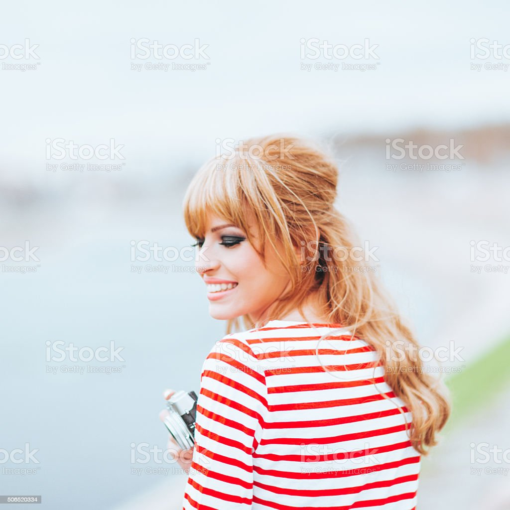 '70s revival stock photo
