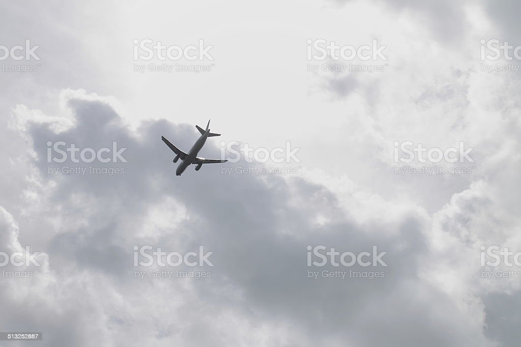 737In the Air stock photo