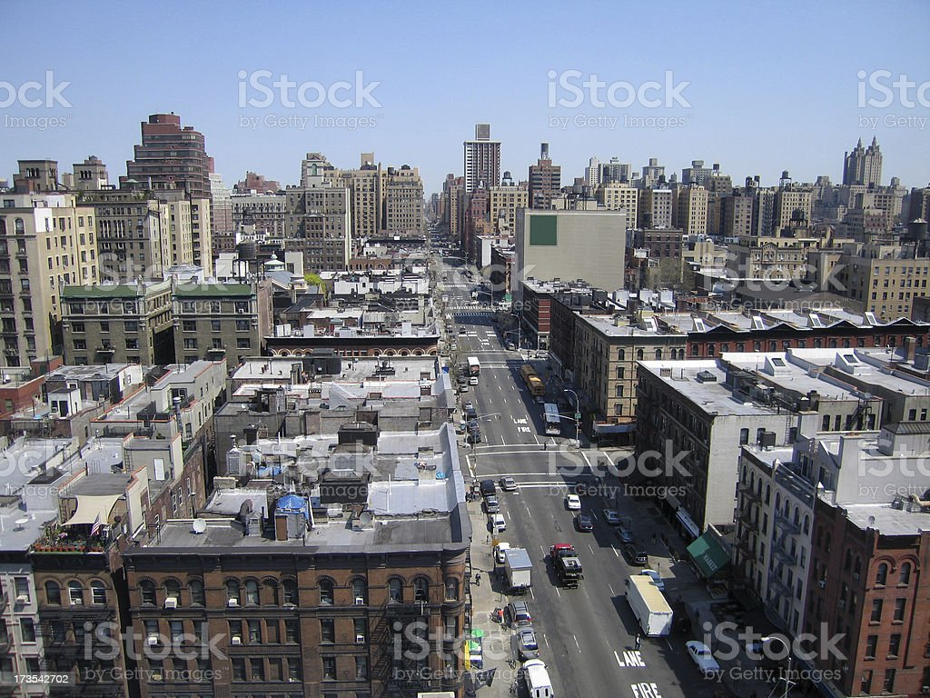 79th Street & Broadway royalty-free stock photo