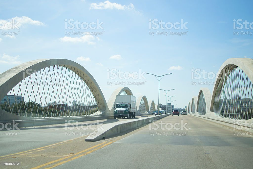 7th Street Bridge stock photo