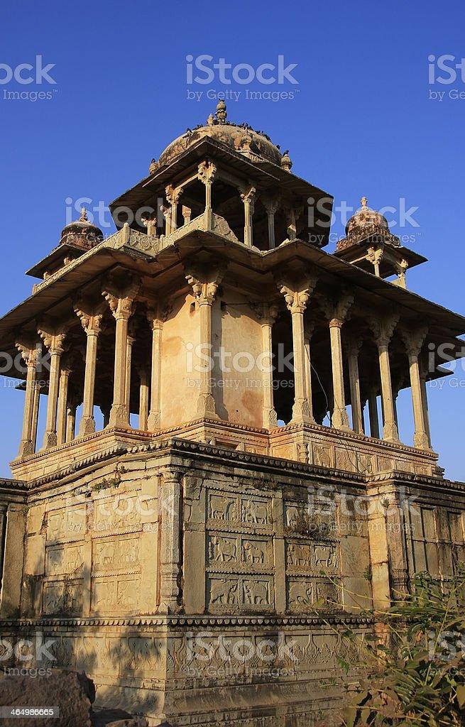 84-Pillared Cenotaph, Bundi, Rajasthan stock photo