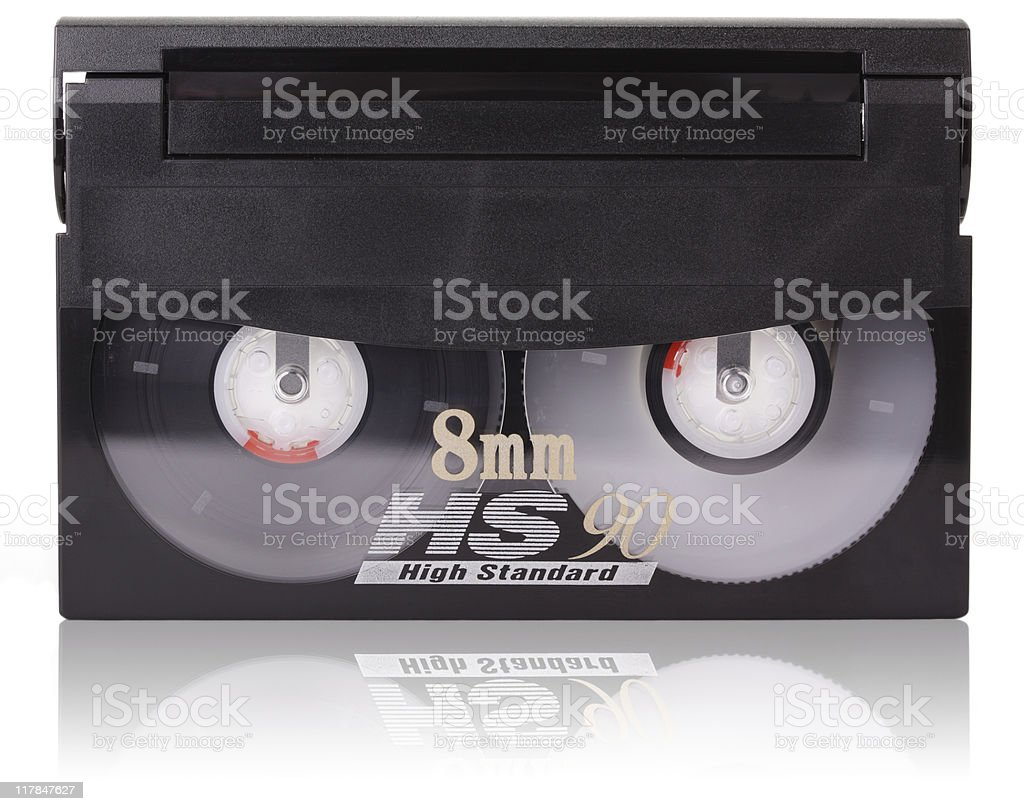8mm Cassette. royalty-free stock photo