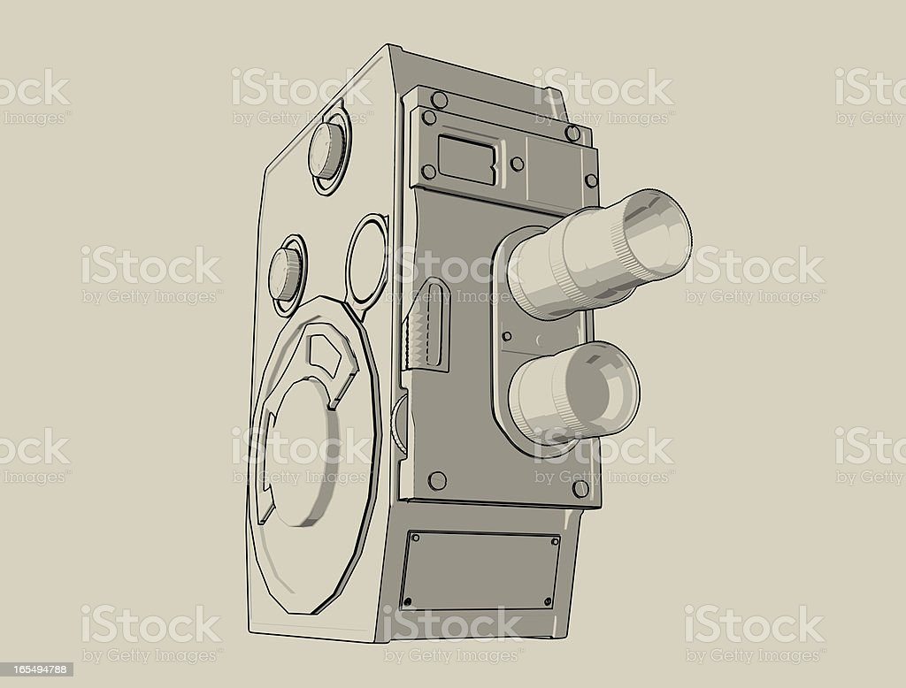 8mm Film Camera stock photo