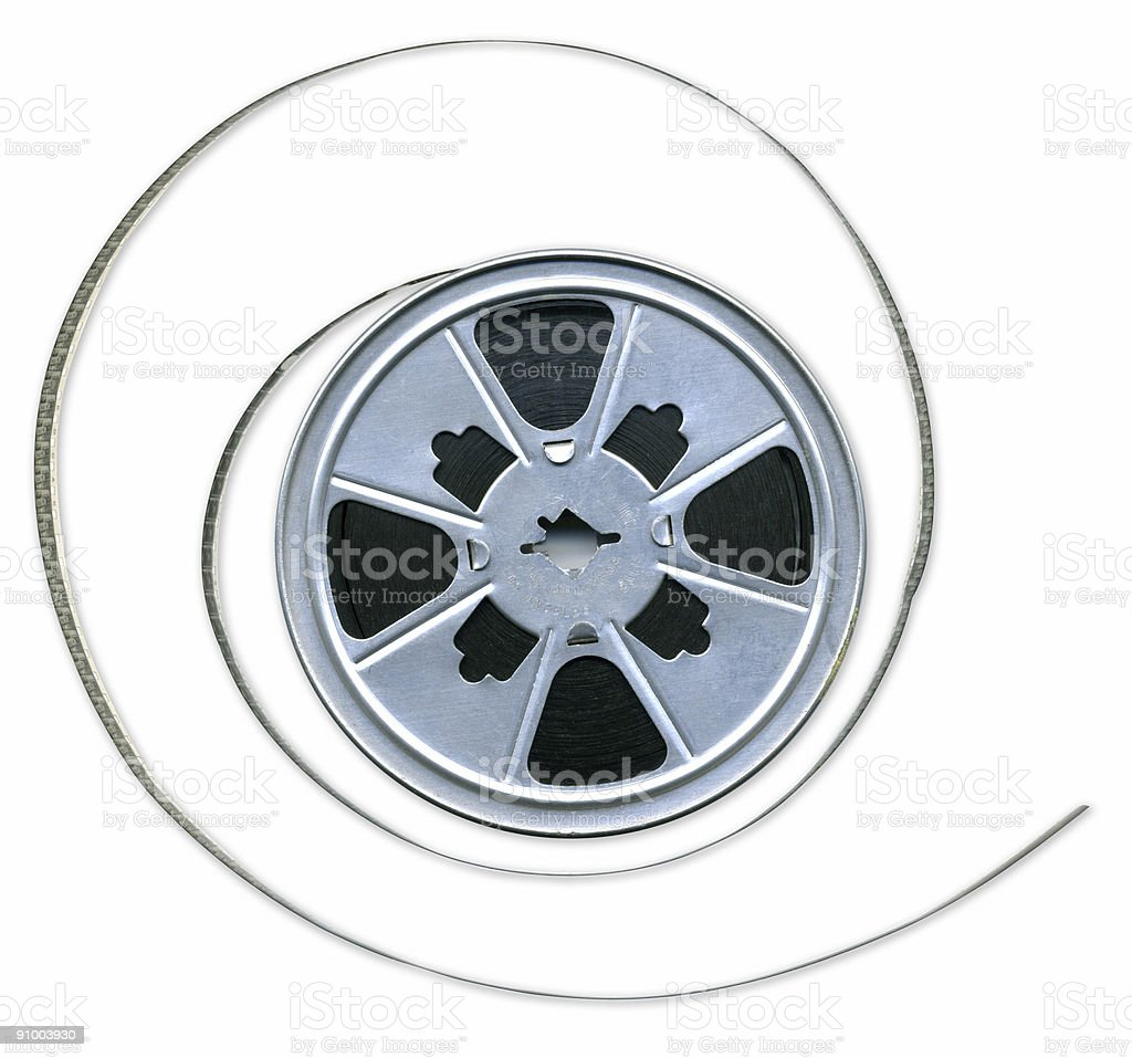 8mm Film Reel royalty-free stock photo