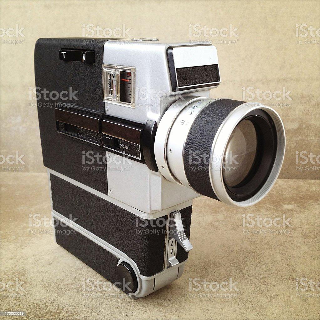 8mm movie camera royalty-free stock photo