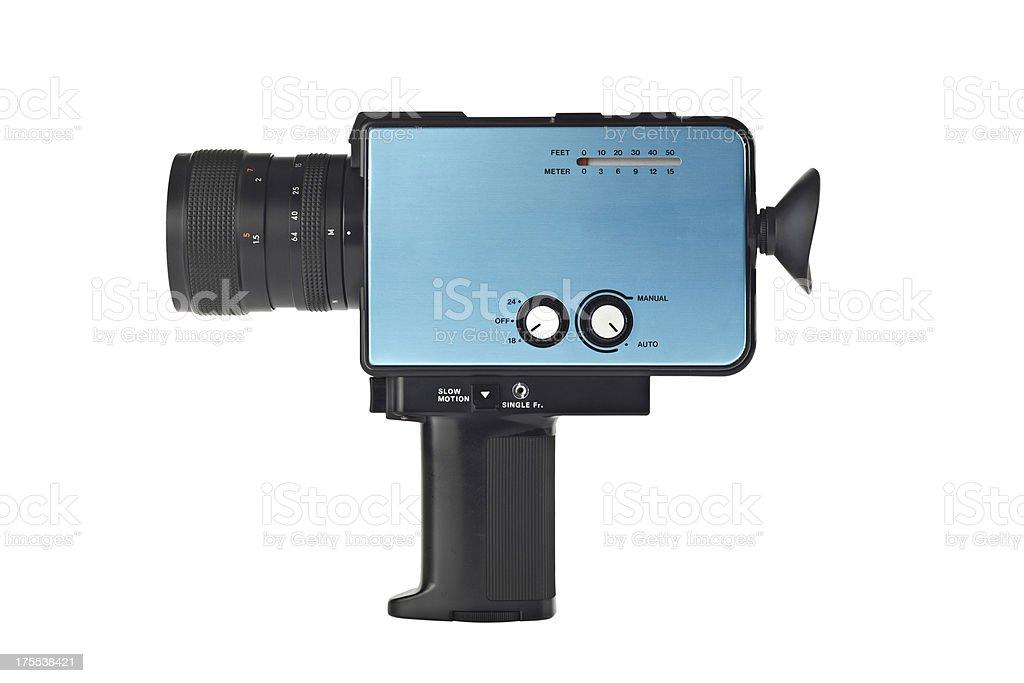 8mm Movie Camera stock photo