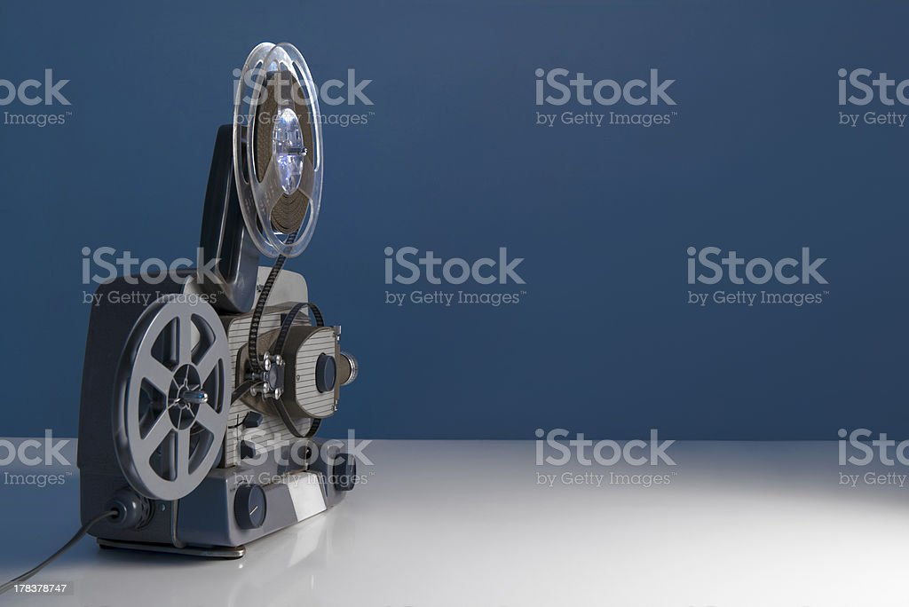 8mm movie projector royalty-free stock photo