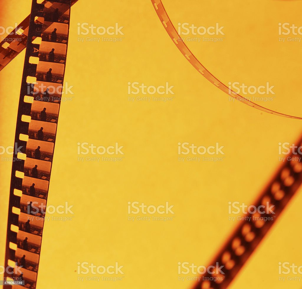 8mm old film stock photo