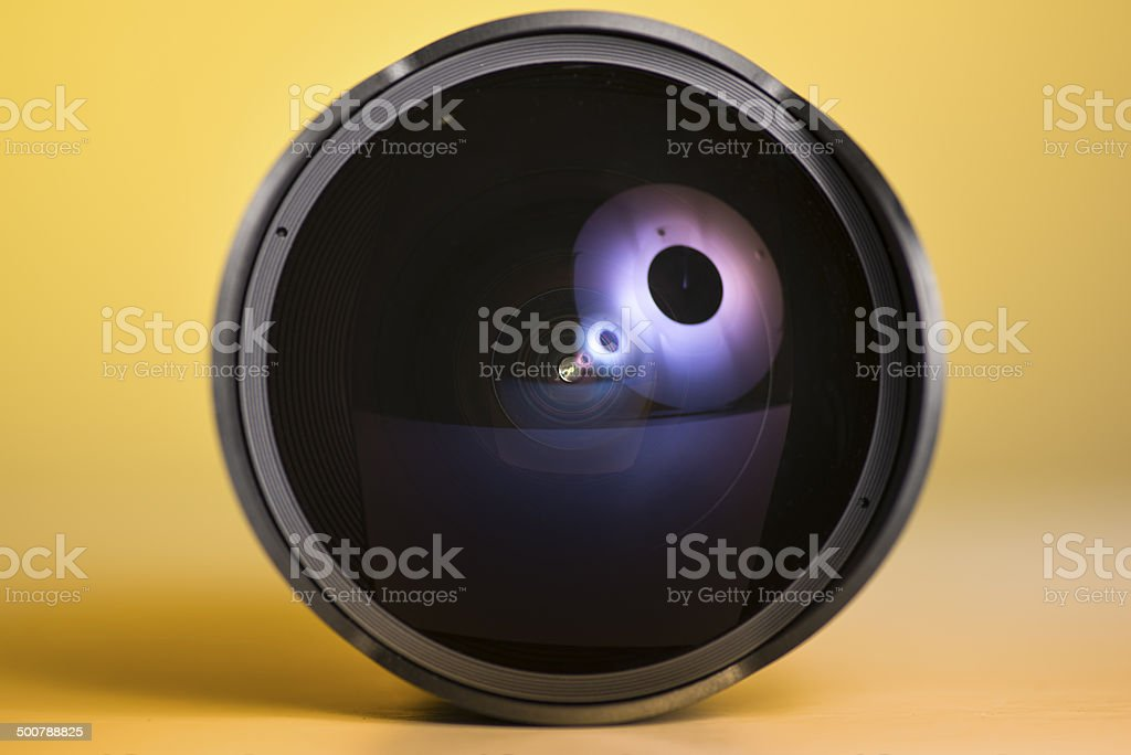 8mm prime fisheye lens royalty-free stock photo