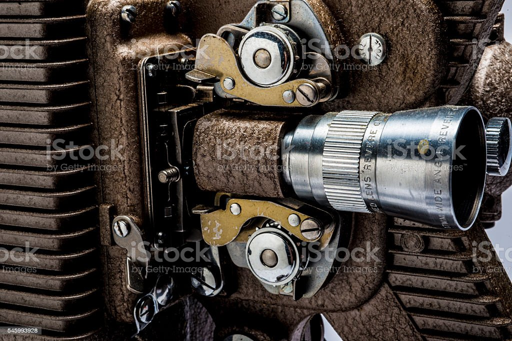 8mm projector stock photo