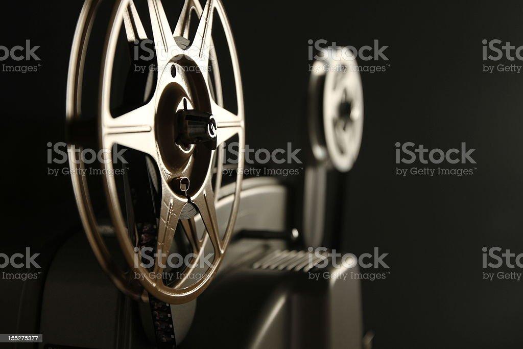 8mm Projector Spools stock photo