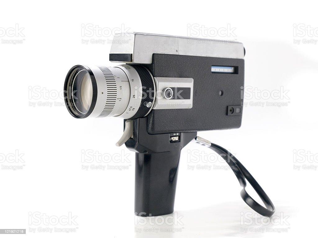 8mm video Camera royalty-free stock photo