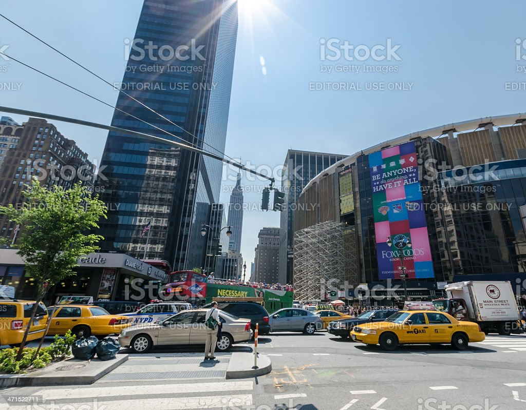 8th avenue stock photo