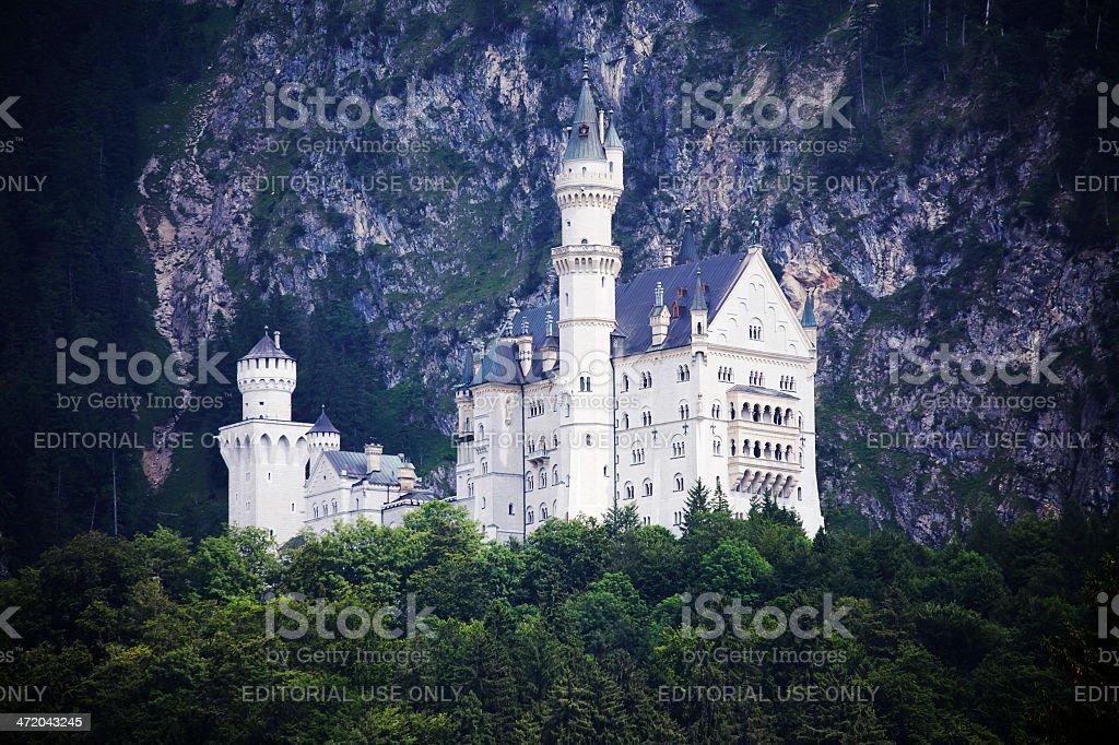 _Castle Neuschwanstein, Germany stock photo