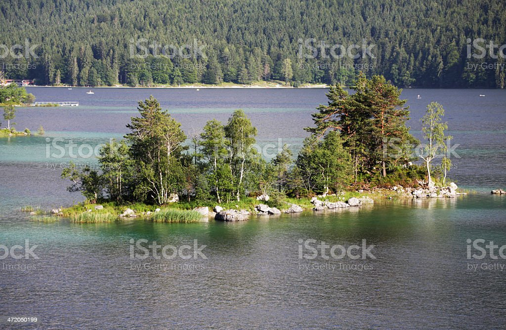 _Eibsee royalty-free stock photo