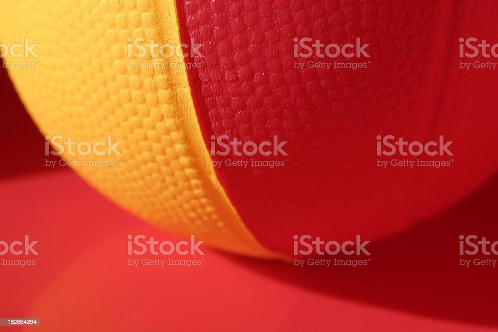 a closeup look  of  a ball ( kids ,toys, games ) royalty-free stock photo