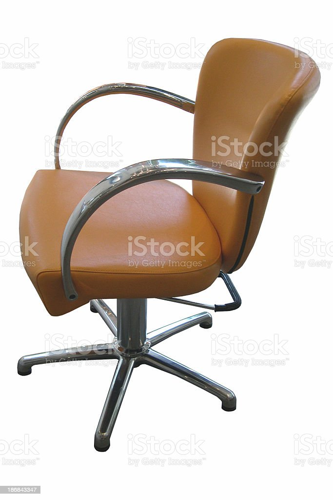 a comfy, happy chair stock photo