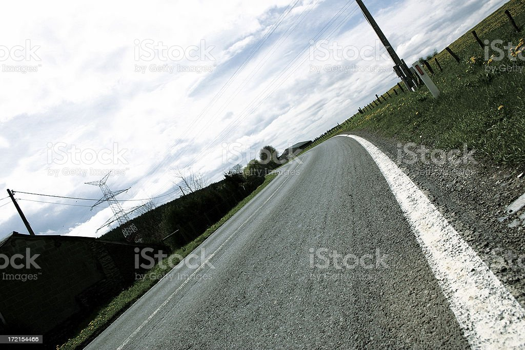 a Dutch road royalty-free stock photo