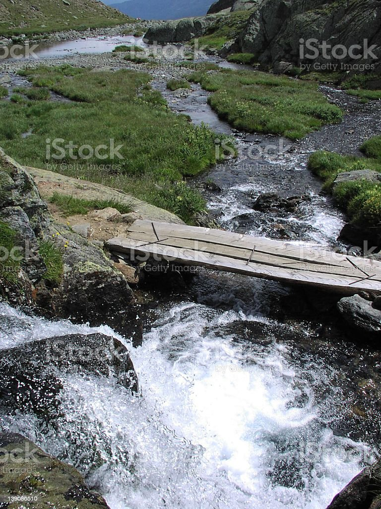 a fresh clear torrent royalty-free stock photo