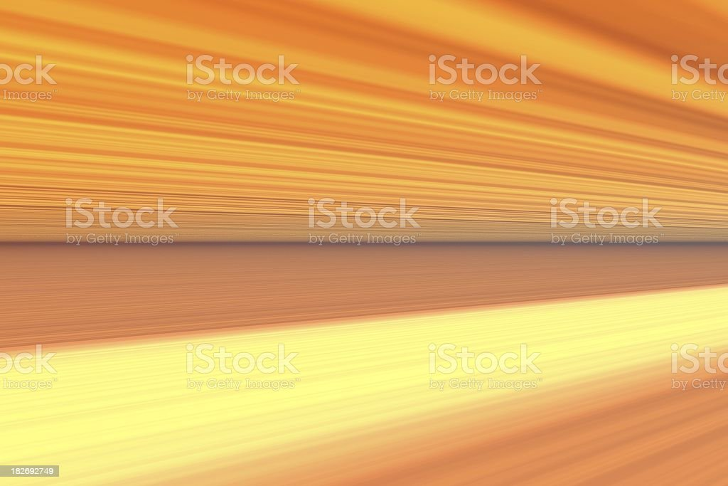 a glowing light speed royalty-free stock photo
