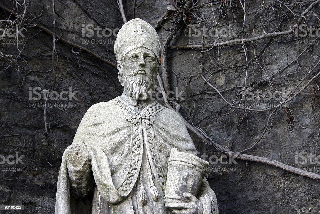 a holy man? stock photo
