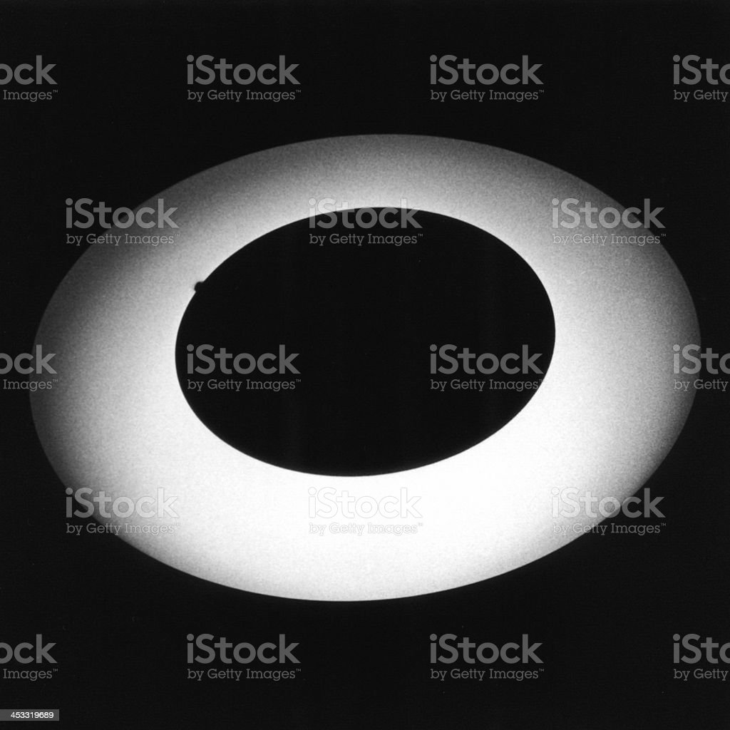 a light in the dark royalty-free stock photo