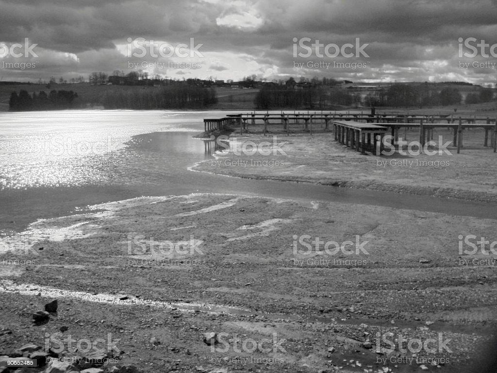 a small lake stock photo