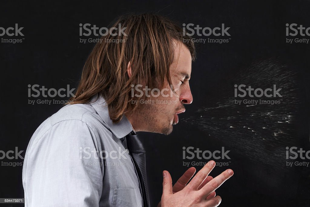 Aaachoo! stock photo