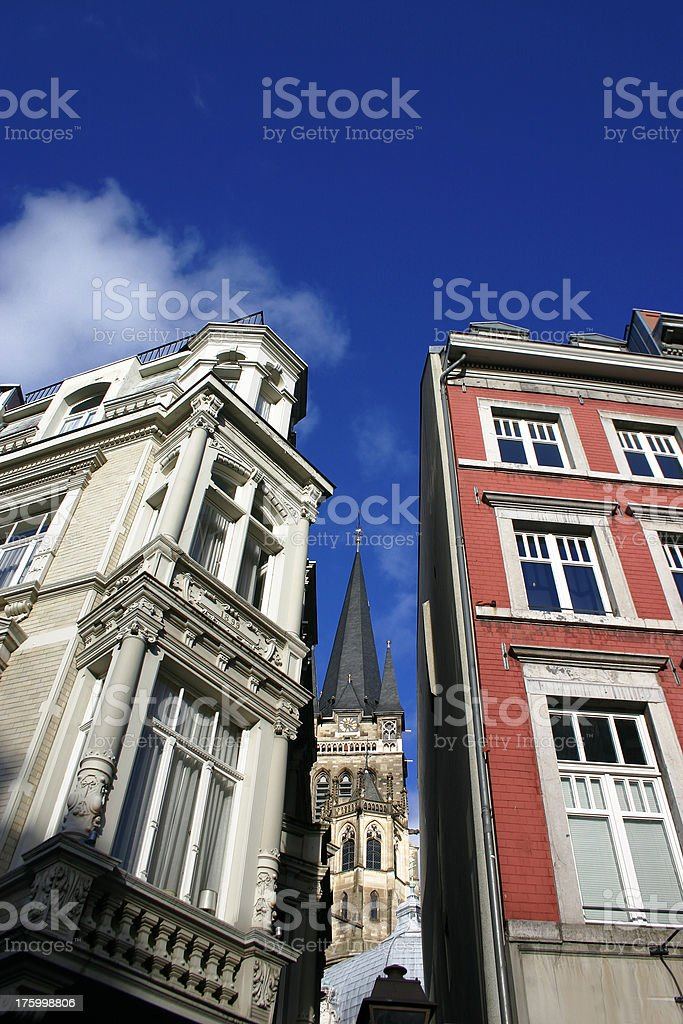 Aachen Cathedral royalty-free stock photo