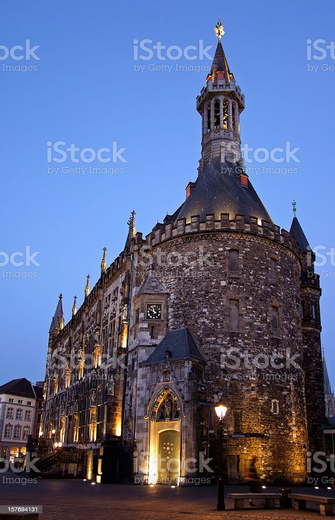Aachen City Hall (Rathaus) stock photo