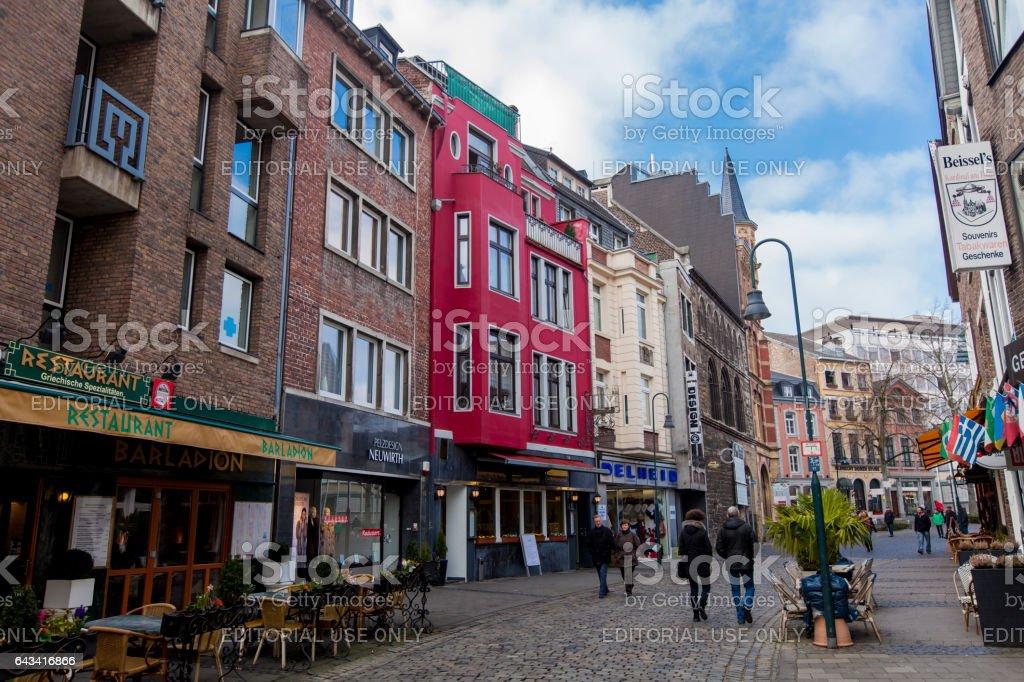 Aachen, Germany stock photo
