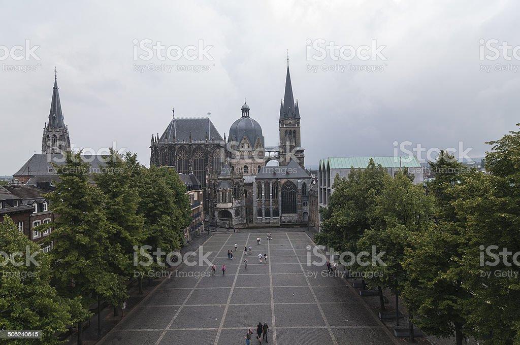 Aachen series 09 stock photo